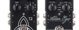 TC Electronic presenta los pedales Alter Ego V2 Vintage Echo y T2 Reverb