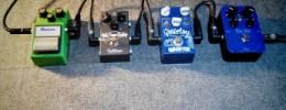 Demo comparativa de cuatro pedales de overdrive