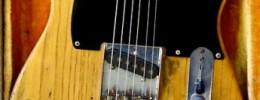 """Jimbo"", la Telecaster de Stevie Ray Vaughan"