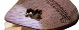 Riversong Guitars presenta sus púas fabricadas en madera