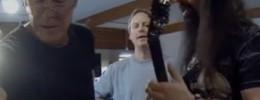 John Petrucci probando un Mesa Boogie Mark 5:25