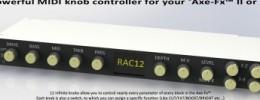 RAC12, controlador MIDI intuitivo para Axe-FX
