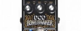 DOD anuncia el Boneshaker, un pedal optimizado para afinaciones graves