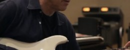 """Mark Knopfler en la grabación de """"Tracker"""""""