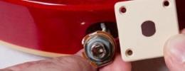 """""""The no spin Jack"""" de Epiphone, sistema de clavija de entrada anti giros"""