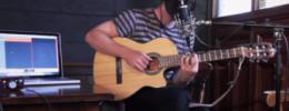 Emisión en directo desde el taller de grabación personal para guitarristas en Madrid