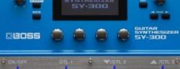 Boss presenta el SY-300, un nuevo sintetizador para guitarra que funciona con pastillas normales