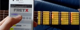 FRETX: visualiza notas, escalas y acordes en tu guitarra