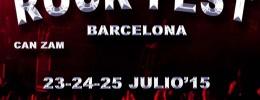Publicados los horarios del Rock Fest Barcelona
