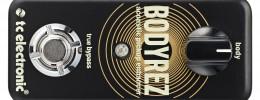 BodyRez de TC Electronic, un pedal para realzar guitarras acústicas y eliminar el feedback