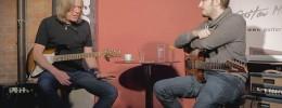 Charla sobre improvisación entre Andy Timmons y Martin Miller y presentación del JHS AT overdrive