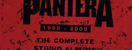 "Rhino Records edita ""The Complete Studio Albums 1990-2000"" de Pantera en formato box set"