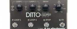 Ditto X4 Looper, la evolución del looper de TC Electronic