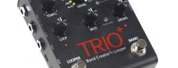 Digitech presenta el Trio+, una nueva versión de su pedal de acompañamientos