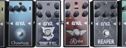 ENGL presenta 6 nuevos pedales de efecto