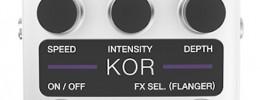 KOR de Aalberg Audio, un nuevo pedal de Chorus/Flanger con control remoto