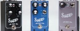 Supro presenta sus pedales para guitarra