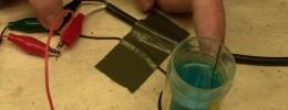 Un efecto de trémolo que funciona con limpiacristales