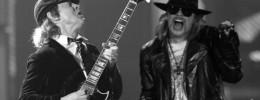 Angus Young tocó anoche con Guns N' Roses en el Festival de Coachella