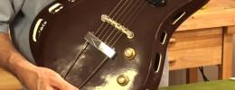 La misteriosa guitarra hecha de cerámica