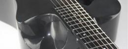 Overhead de Journey, guitarras desmontables de fibra de carbono