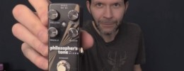 Paul Gilbert demuestra el compresor Philosopher's Tone