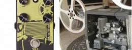 385 Overdrive, un pedal inspirado en la sección de audio de un proyector de películas