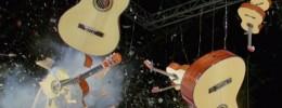 18 guitarras destruidas en menos de 4 segundos: el nuevo vídeo de OK Go