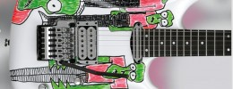 JSART2, 50 guitarras decoradas por Joe Satriani