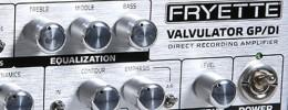 Fryette Valvulator GP/DI, un ampli a válvulas diseñado para Home Studio