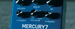 Mercury 7 y Ottobit Jr, el debut de Meris en pedales para guitarristas