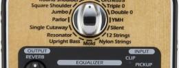 Zoom AC-2, un pedal que restaura el sonido de tu guitarra acústica
