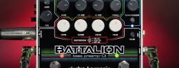 Battalion de Electro-Harmonix, un preamplificador y DI para bajo