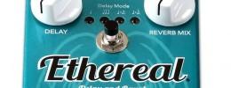 Wampler Ethereal, reverb y delay unidos en un solo pedal