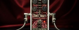 Tone Corset, un nuevo pedal de compresión de Electro-Harmonix
