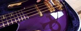 El bajo eléctrico de Gus Guitars que Prince nunca llegó a tocar