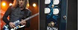 KHDK Abyss, el primer pedal de Kirk Hammett para bajo eléctrico