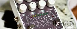 Electro-Harmonix Platform, un compresor y limitador estéreo con overdrive