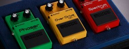 Boss 40th Anniversary Box Set: los pedales OD-1 Overdrive, PH-1 Phaser y SP-1 Spectrum reeditados
