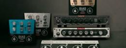 Bias Mini y pedales Twin: las versiones compactas del cabezal y efectos de Positive Grid