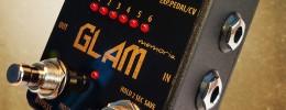 Servus! Pedale Glam, distorsión analógica con 6 memorias programables