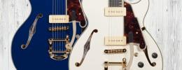 D'Angelico DC y SS Shoreline, nuevas guitarras de la serie Excel