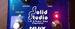Solid Studio IR Loader, el nuevo simulador de etapa y altavoces de Nux