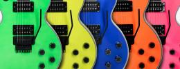 Gibson Custom presenta 5 nuevas Les Paulen colores neón