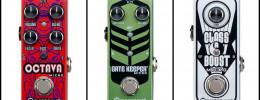 Octava de Pigtronix, un nuevo pedal y dos reediciones en versión micro