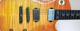 Scarab, la nueva guitarra semi-multiescala de Ormsby guitars
