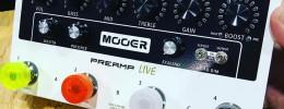 Preamp Live, un preamplificador programable de Mooer