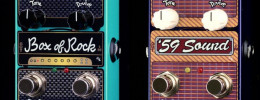 ZVex anuncia versiones verticales de los pedales Box of Rock y '59 Sound