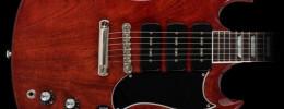 Gibson lanza la Gary Clark Jr. Signature SG con acabado Vintage Cherry