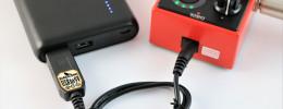 Birdcord de Songbird FX, alimenta tus pedales con una batería externa para el móvil